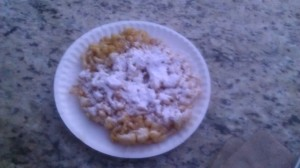 Homemade Funnel Cake, Picture by Alex Tsai