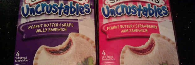 Uncrustables! Why make your own PB&J?
