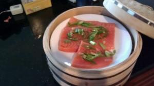Salmon in Steamer