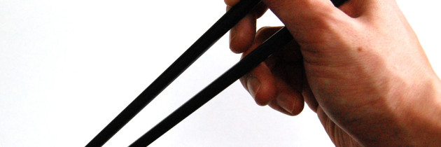 When to start training a baby… to use chopsticks…